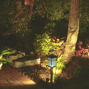 Extend the life of your landscape into winter with landscape lighting