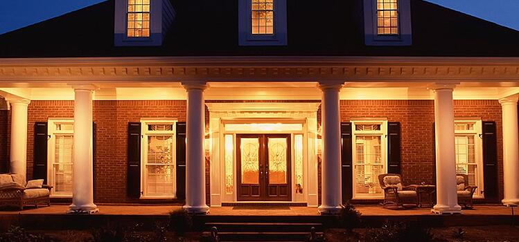 Outdoor Lighting should provide safety and security