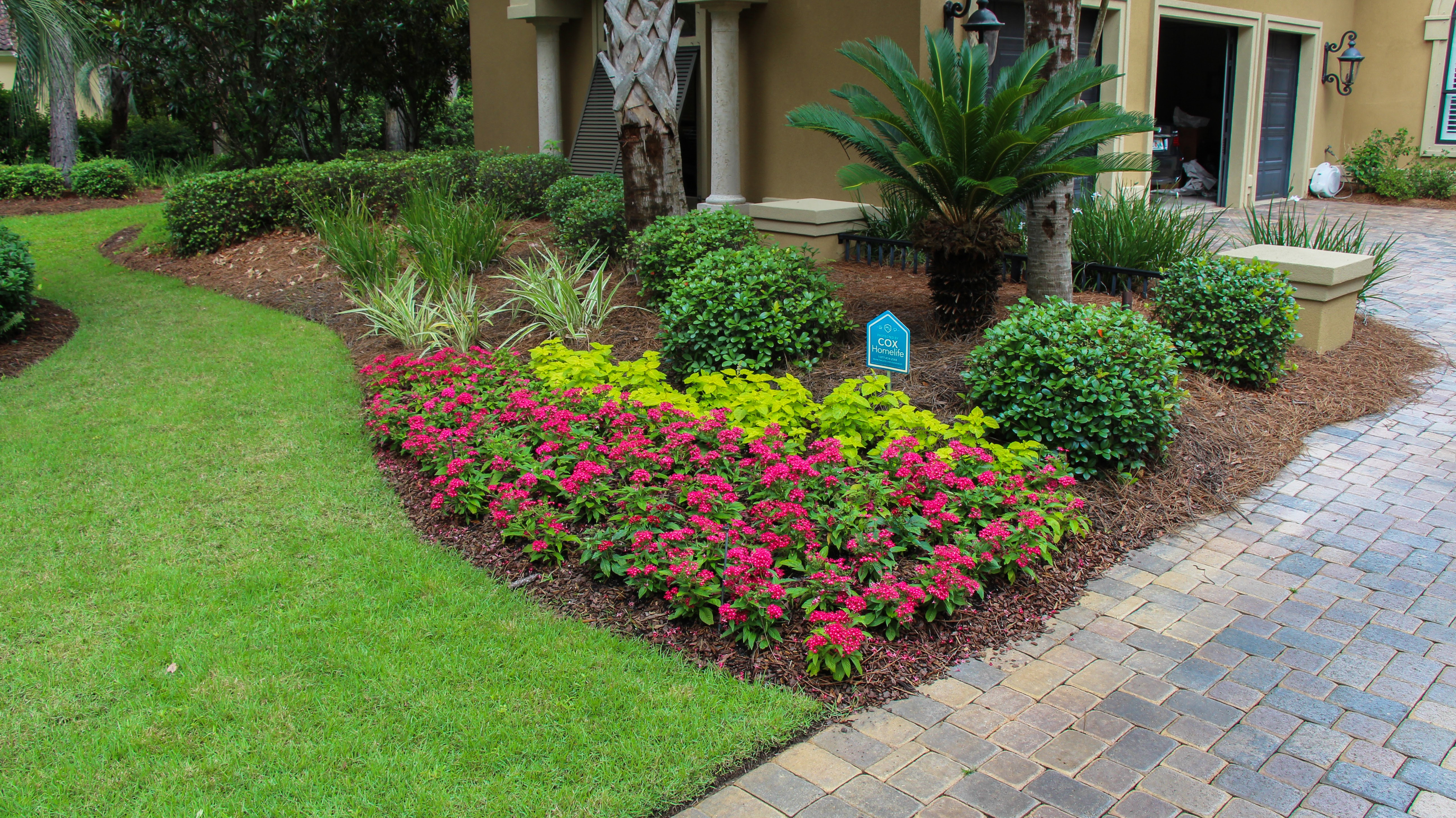 Pool landscaping for Florida pool builders