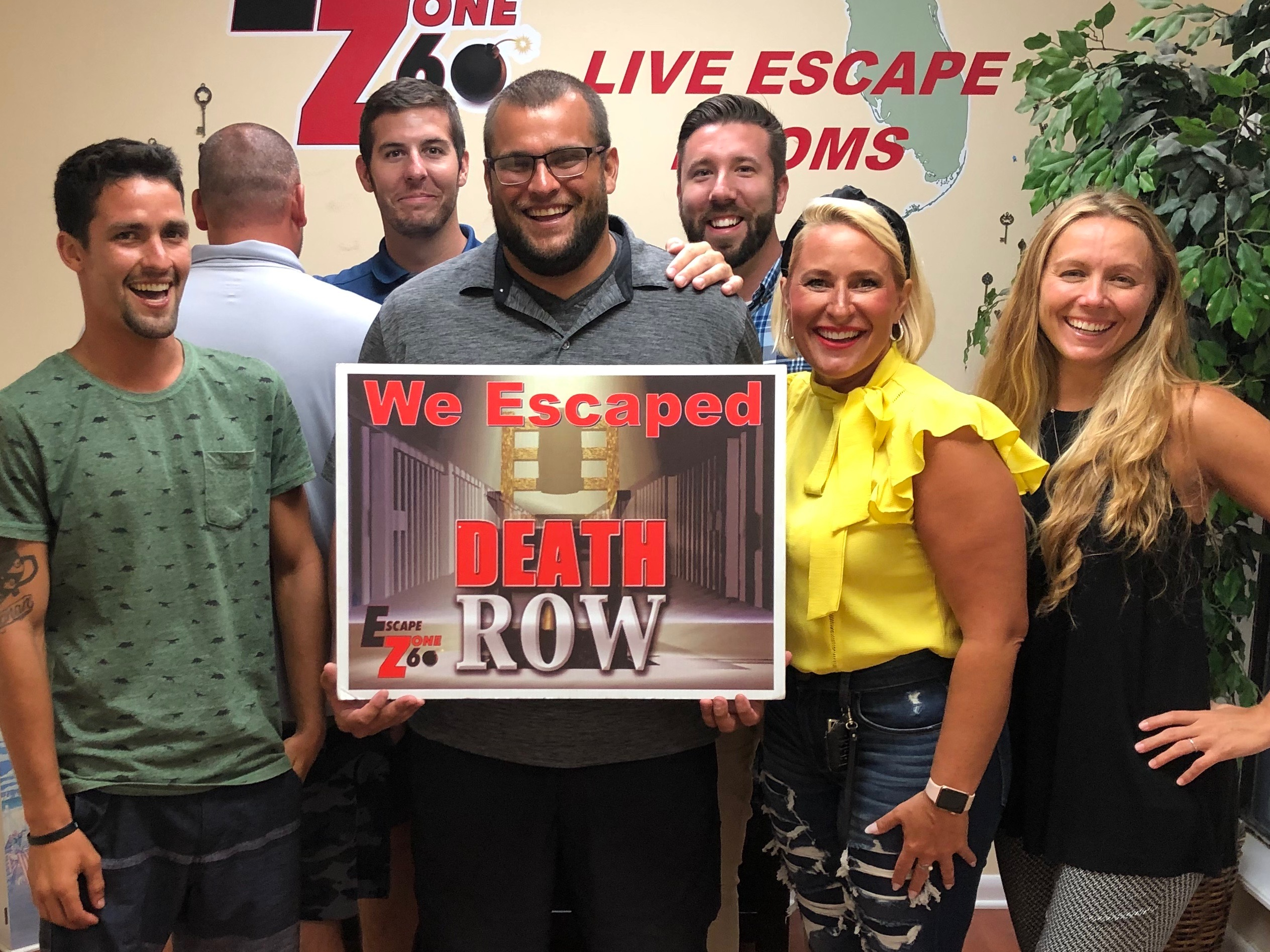 Escape room for our the team at GreenEarth Landscapes