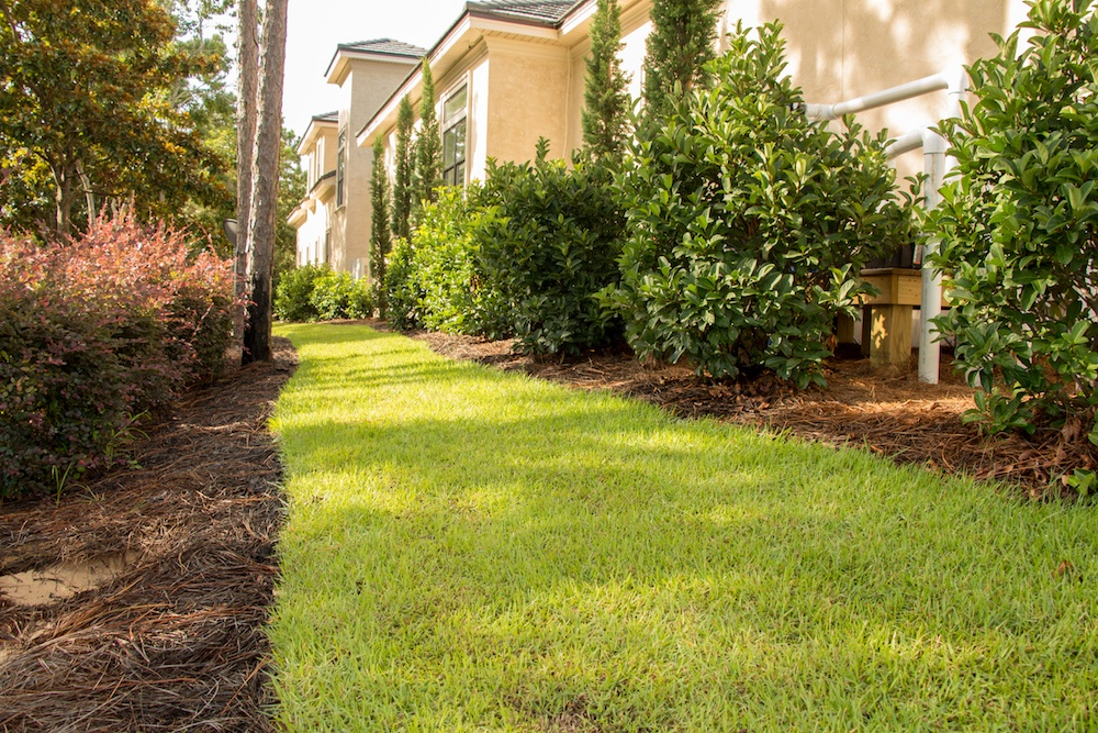 Lovely commercial landscaping at Burnt Pine in NWFL