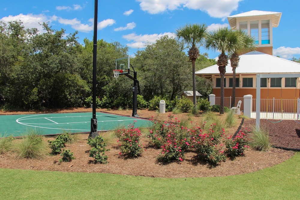 Our commercial landscaping work at Bellview Park receives many compliments